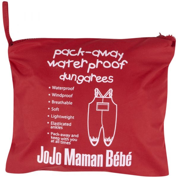 Petos Impermeables Jojo Maman Bebe - Saquito Rojo