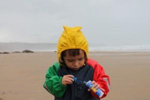 Chaqueta impermeable infantil Ocean