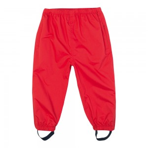 Pantalón impermeable JoJo Maman Bébé  Rojo