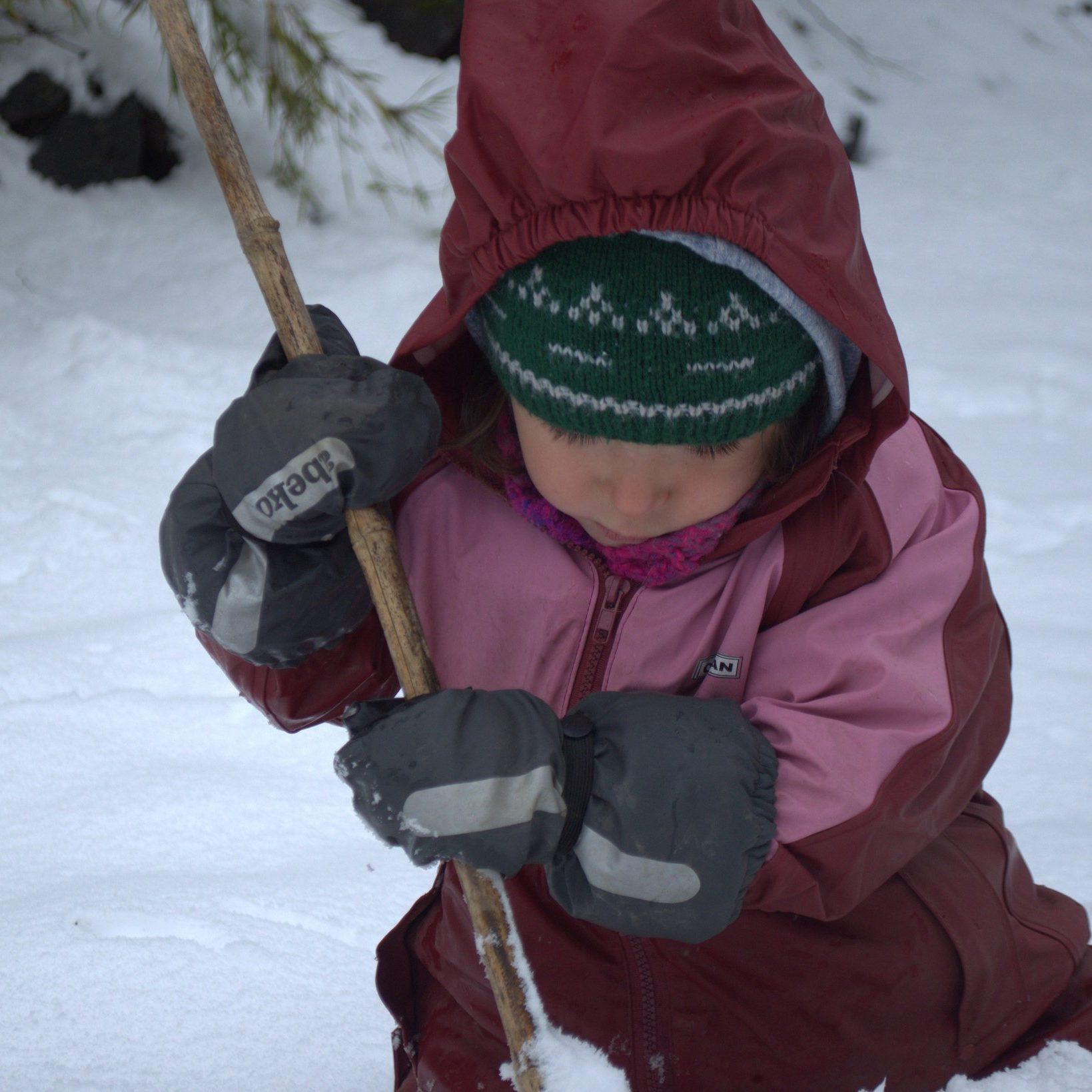 Proteccion manos niños frio