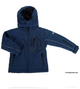 Soft Shell Azul Marino