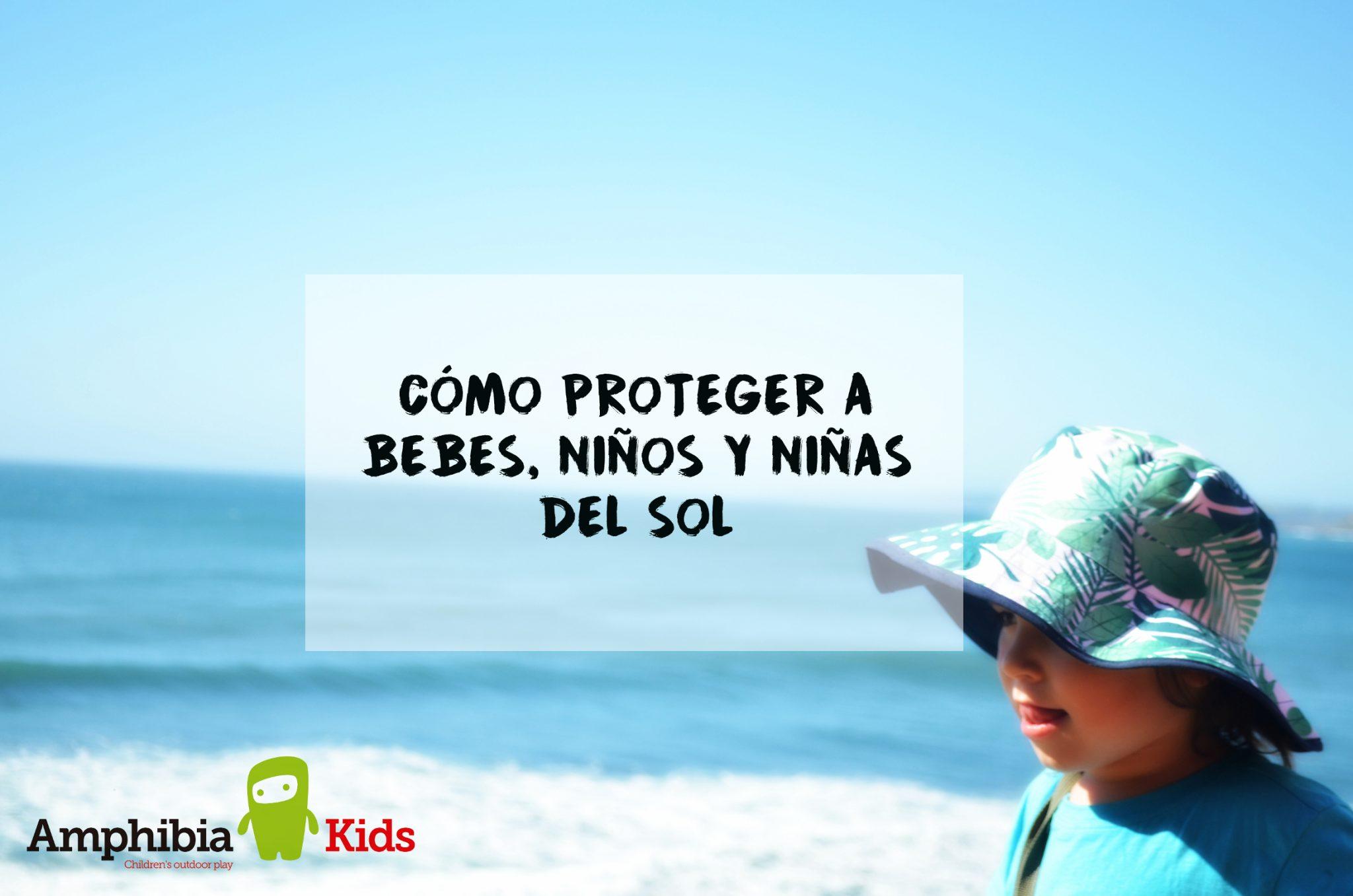 Cómo proteger a bebés, niños y niñas del sol