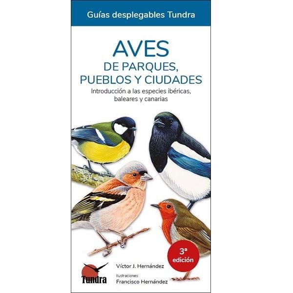 guia desplegable aves