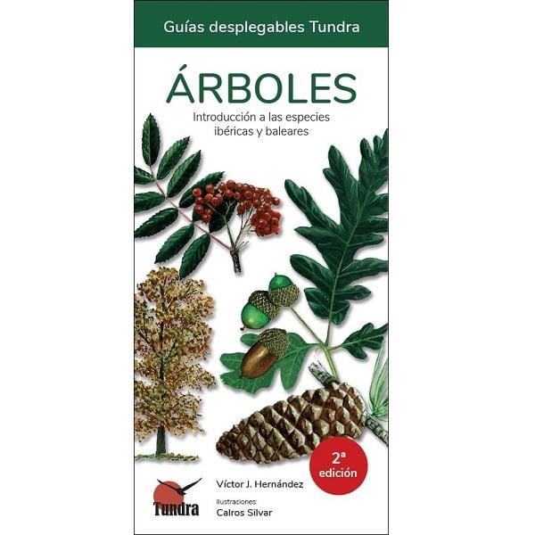 Guía desplegable árboles tundra ediciones