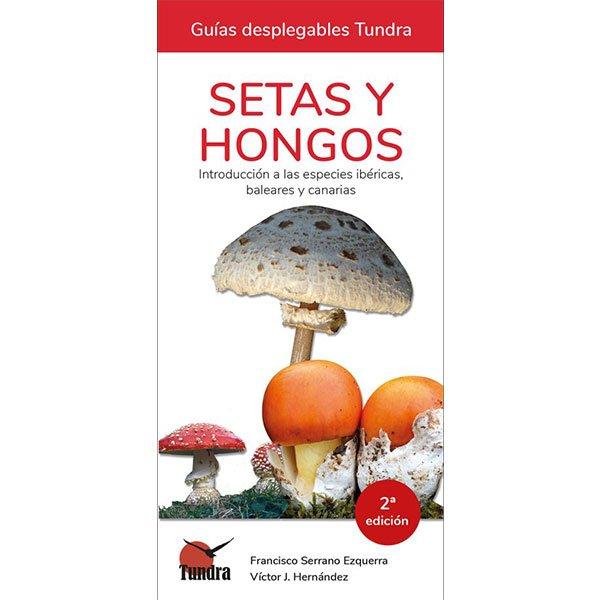 guía de campo tundra para identificar setas y hongos