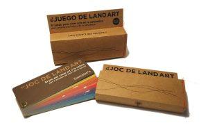 Caja juego de Land Art