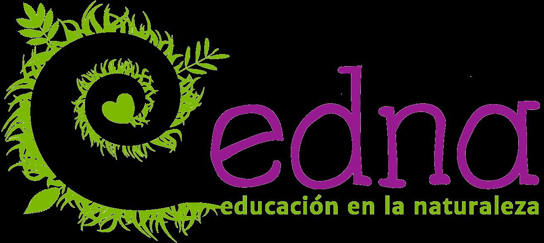 Logo EDNA educación en la Naturaleza