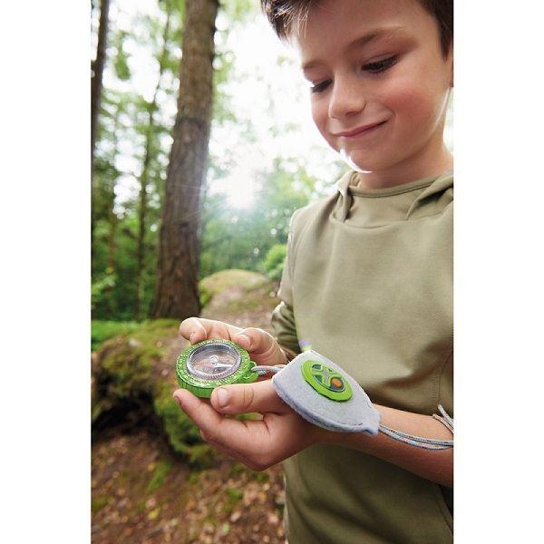 Brújula de bolsillo orientación niños