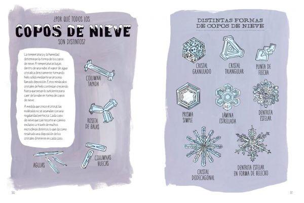 Nieve explicada a niños