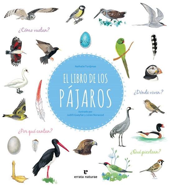 Libro pájaros niños