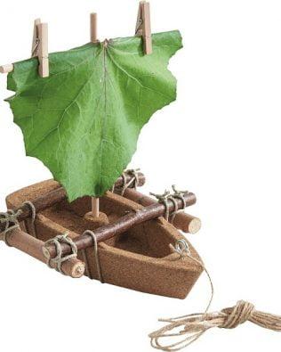 Kit de construcción de un Bote de corcho