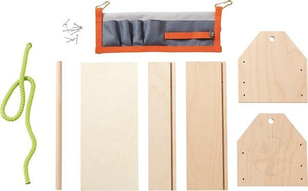 caja de herramientas madera niños