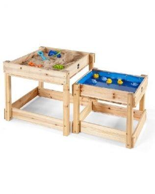 Mesas nido de madera multiusos