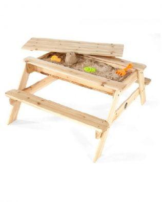 Mesa sensorial y picnic