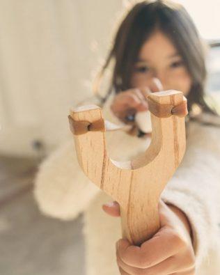 Tirachinas de madera
