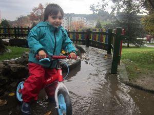 Jugar con lluvia