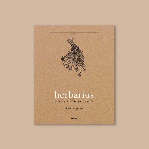 Cuaderno colorear plantas medicinales