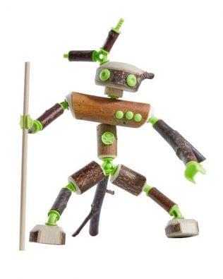 Conectores – Set de construcción de figuras (66 piezas)