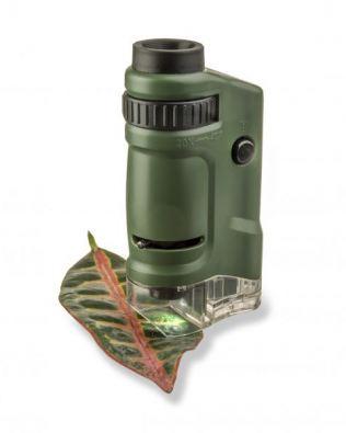 Microscopio de bolsillo infantil 40x – Carson®