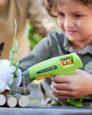 Pistola de pegamento termofusible – Terra Kids