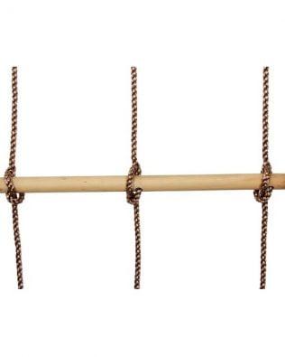 Escalera de cuerda doble