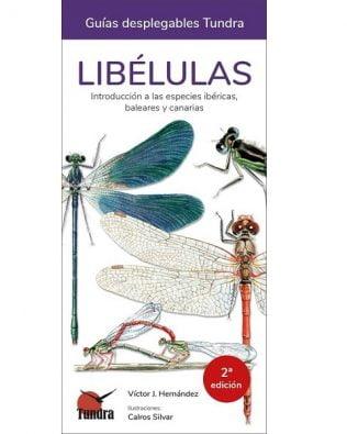 Guía desplegable Tundra: Libélulas. Introducción a las especies ibéricas