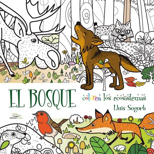 Libro mural colorear niños