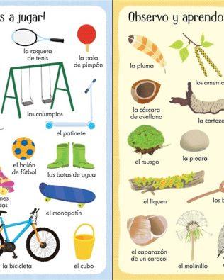 199 cosas que hay en el jardín. Usborne