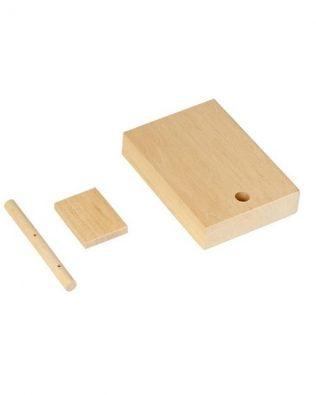 Kit para tallar tu propio barco de madera