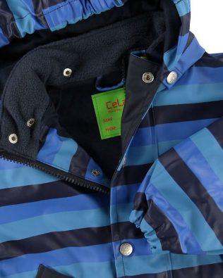 Chaqueta impermeable con forro de jersey Celavi