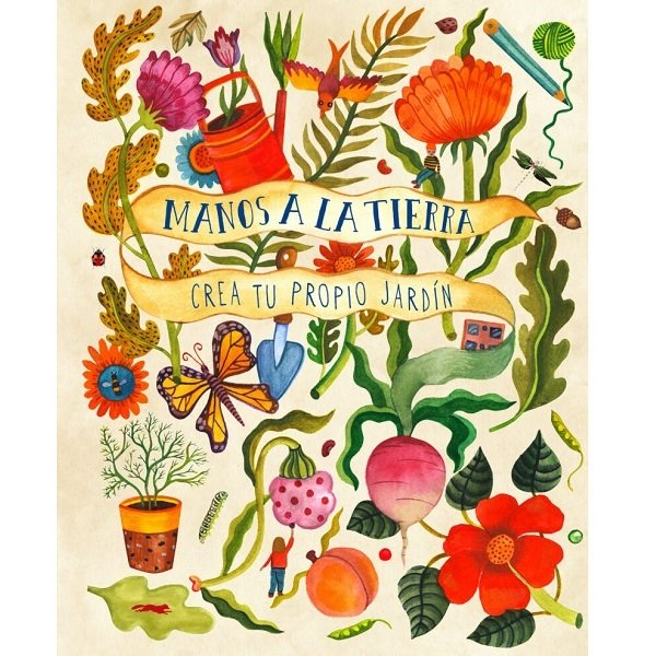 Libro jardín niños Manos a la Tierra