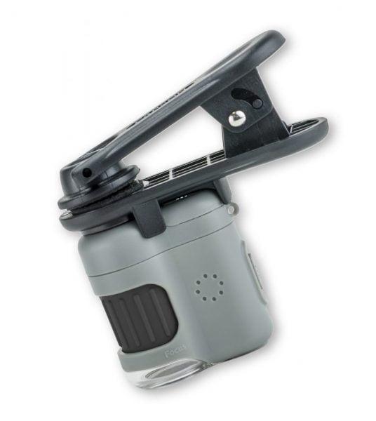 Microscopio bolsillo pinza teléfono móvil