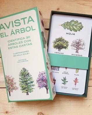 Avista el árbol. Set de tarjetas de identificación (cast/cat)