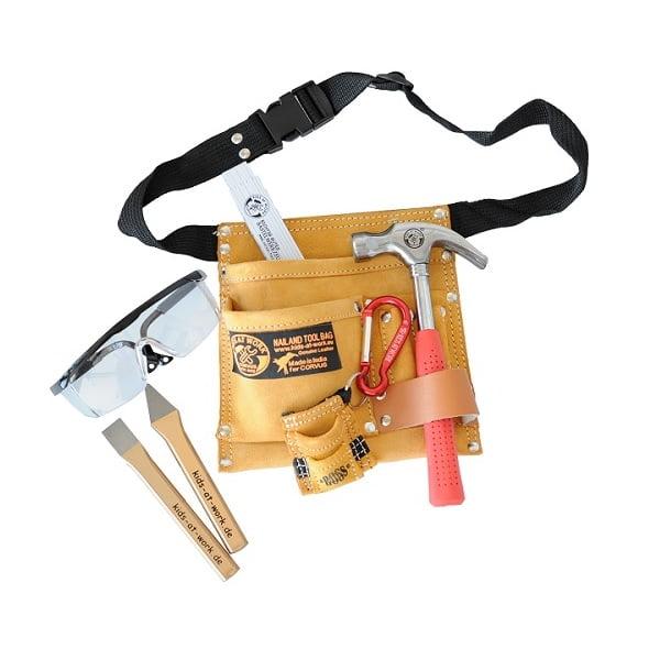 Cinturón herramientas geología niños niñas