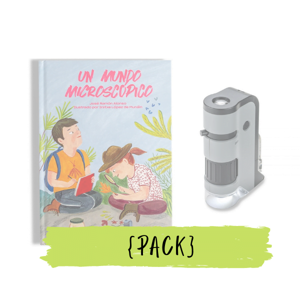 Pack regalo microscopio