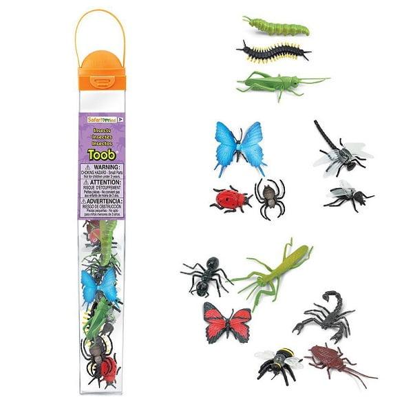 Tubo insectos safari