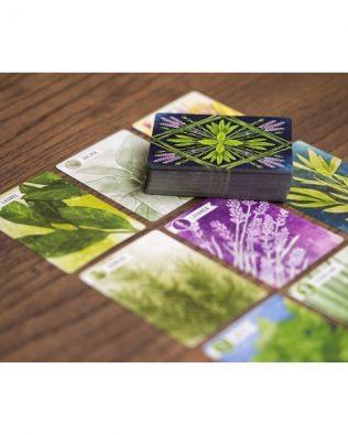 Herbáceas. Juego de cartas