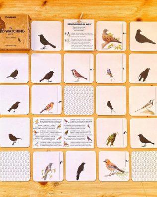 Observatorio de Aves. Juego de cartas (cast./cat.)