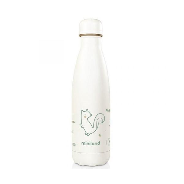 botella acero 500 ml miniland