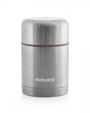 Termo para sólidos Steel 600ml – Miniland
