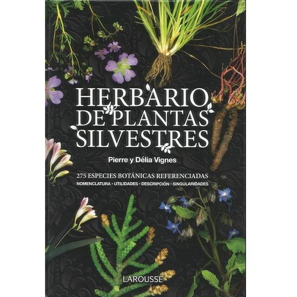 Libro herbario plantas silvestres Larousse