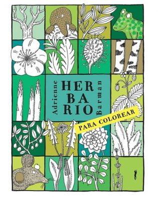 Herbario para colorear – Adrienne Barman