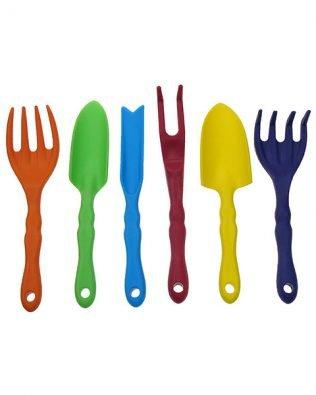 Set de 6 herramientas para jardinería – Kids at work