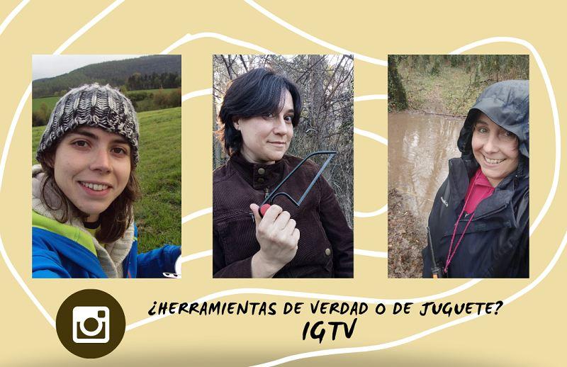 IGTV: Hablamos sobre herramientas reales en la infancia