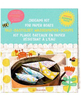 Kit Origami de 6 barcos de papel impermeable – Spiegelburg