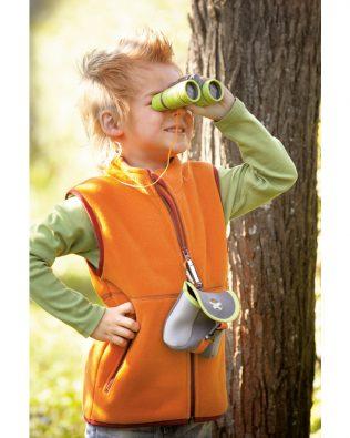 Prismáticos infantiles 4 x 32 mm con bolsa – Terra Kids