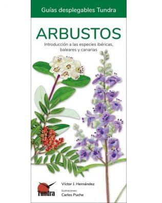 Guía desplegable Tundra: Arbustos
