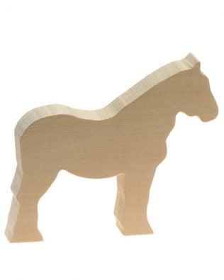 Talla en madera de tilo – Pony – Kids at Work