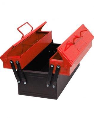 Caja de herramientas metálica – Kids at Work