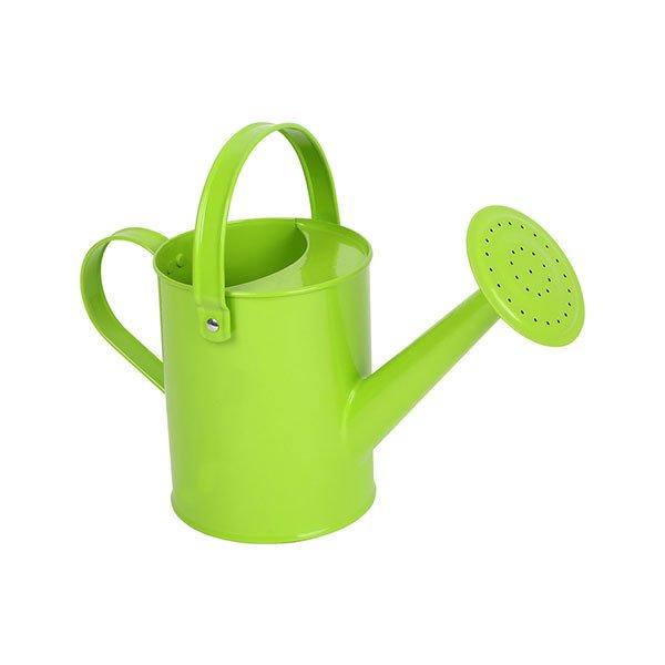 Regadera metálica infantil de la marca Legler en color verde
